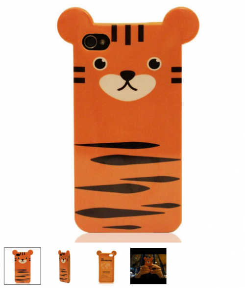 capinha iphone tigre 500x587 10 fundas para iPhone SUPER GUAYS