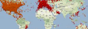 PlaneFinder, ver aviões em pleno vôo com Google Maps (Web, iOS e Android)