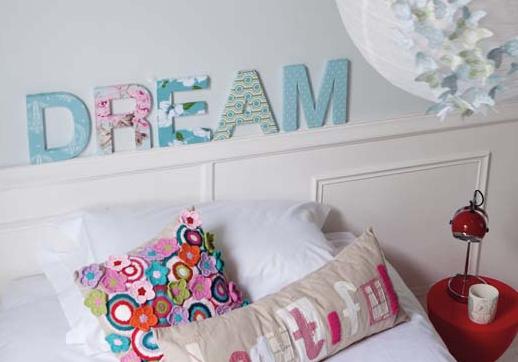 Como fazer letras decorativas de parede - Letras decorativas pared ...
