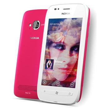 """Smartphone Nokia Lumia 710 """"Rosa"""" ( Preço: R$ 595,00)"""
