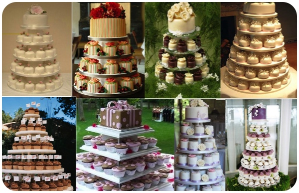 decorar-bolo-com-cupcakes