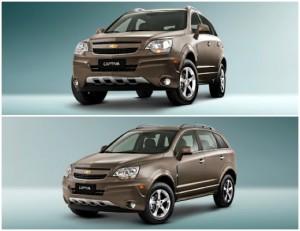 Fotos e preços do Chevrolet Captiva 2012-2013