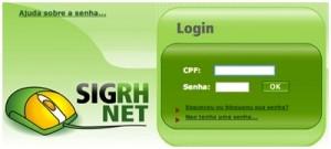 Consultar Contra Cheque - Portal do Servidor Público DF
