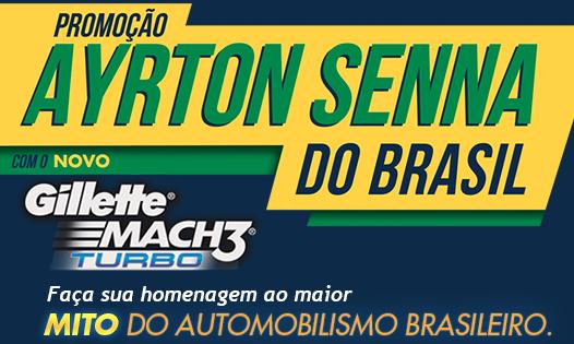 Promoção Gillette Ayrton Senna