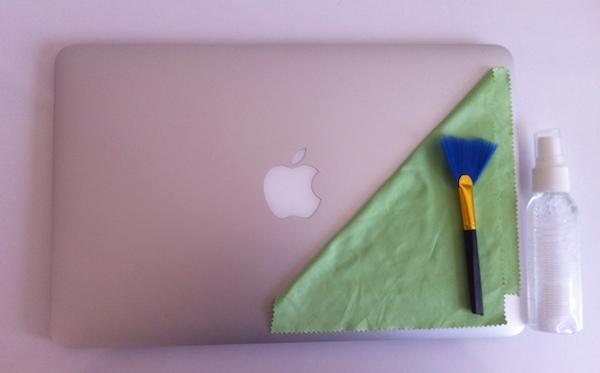 produtos para limpar macbook
