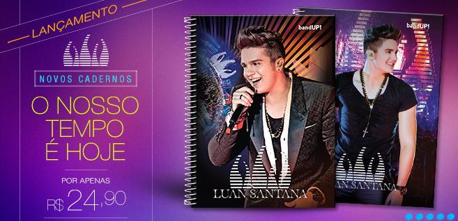 caderno do luan santana 2014