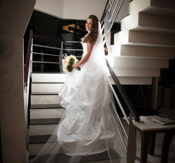 vestido de noiva comprado na China