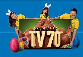PROMOÇÃO EXTRA TV 70 POLEGADAS! - Enviar Códigos