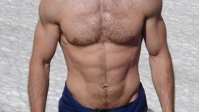 abdomen definido masculino