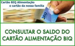 Ver Saldo Cartão Biq Benefícios - WWW.BIQBENEFICIOS.COM.BR