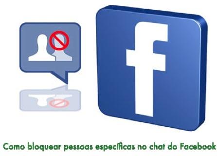 eliminar pessoas do chat do facebook