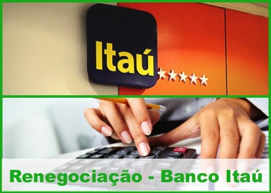 renegociação Dívida - Banco Itaú