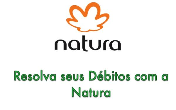 negociar debito com a Natura