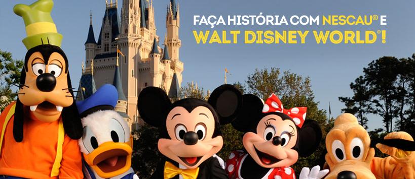 Promoção da Nescau Aventuras Walt Disney