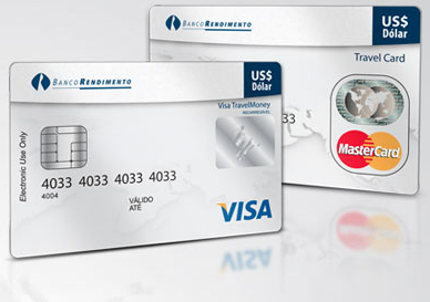 Visa travel money rendimento