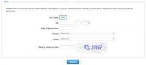Boletim Escolar Online SP - Secretaria da Educação