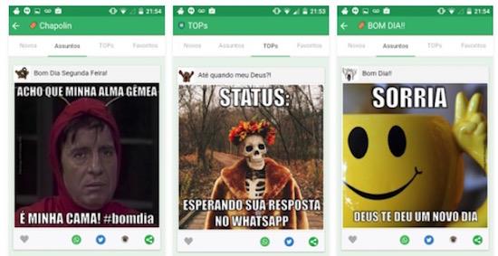 app de memes para whatsapp