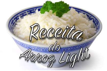 receita arroz light