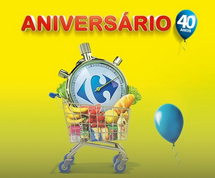 Promoção 1 Carrinho por Minuto - Aniversário Carrefour