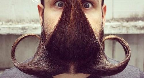 barba com cerinha