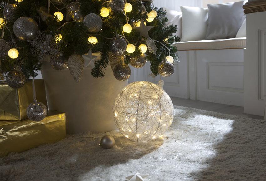 decoração chique de natal