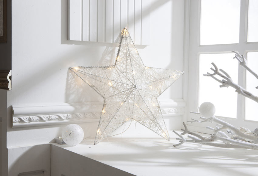 decoraçao minimalista de natal