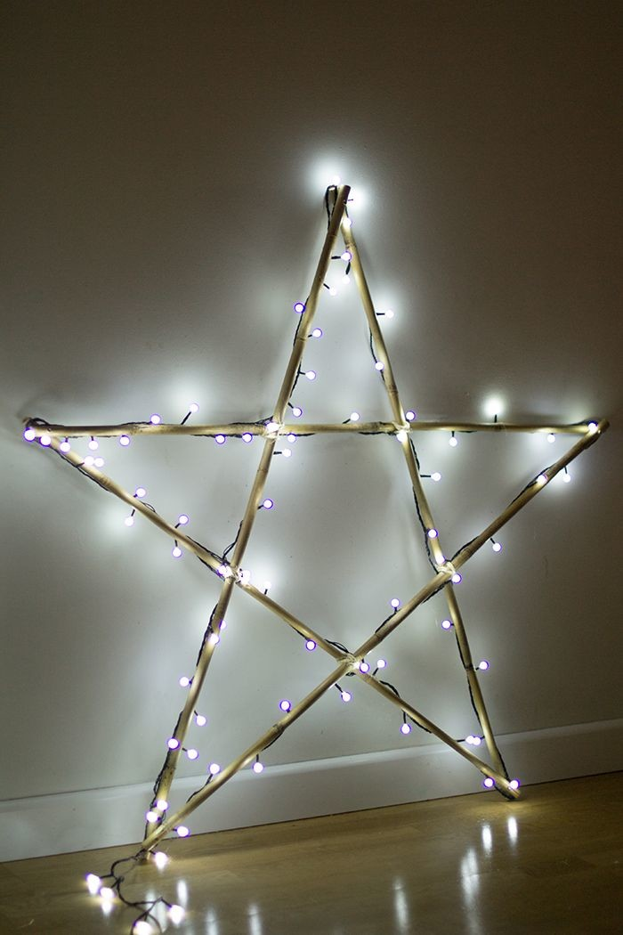 decoraçao natalina com estrela