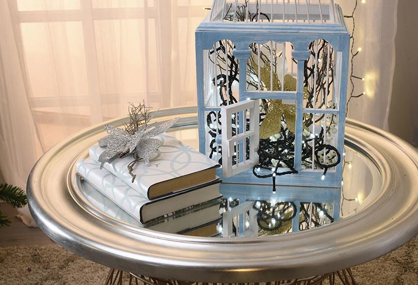 ideia de decoração para o natal