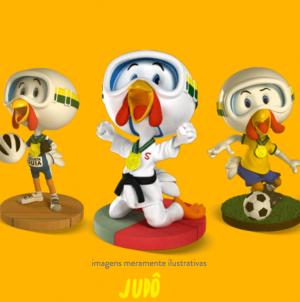 Mascote da Sadia Olímpiadas 2016, ganhe o seu!
