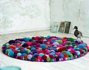 Como fazer um tapete medusa - Passo a Passo
