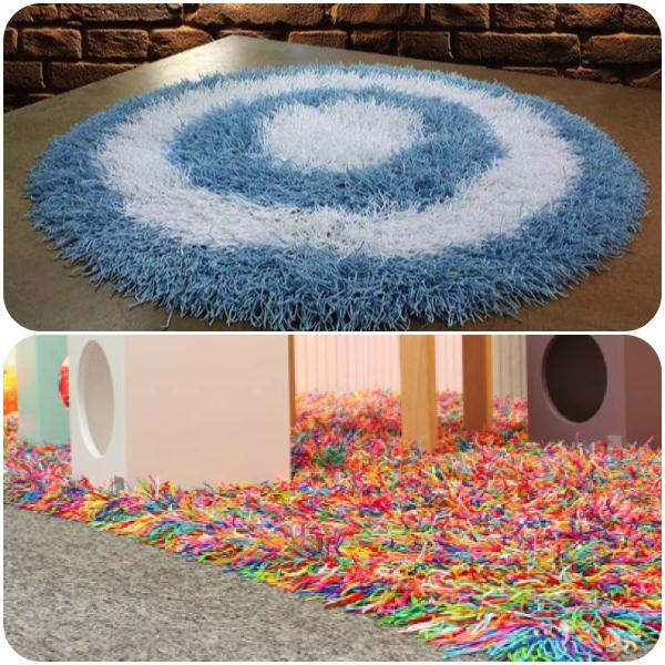 como fazer tapete medusa
