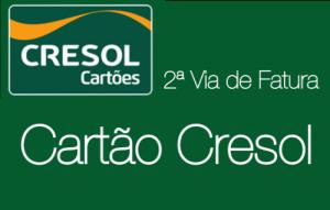 2ª Via de Fatura Cartão Cresol - www.portalcard.com.br
