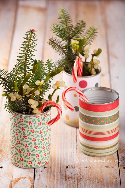 Canecas decoradas para o Natal